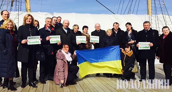 Міський голова Михайло Сімашкевич, перебуваючи в Норвегії з офіційним візитом, 9 квітня організував флеш-моб на підтримку Кам'янця-Подільського як молодіжної столиці Європи - 2018