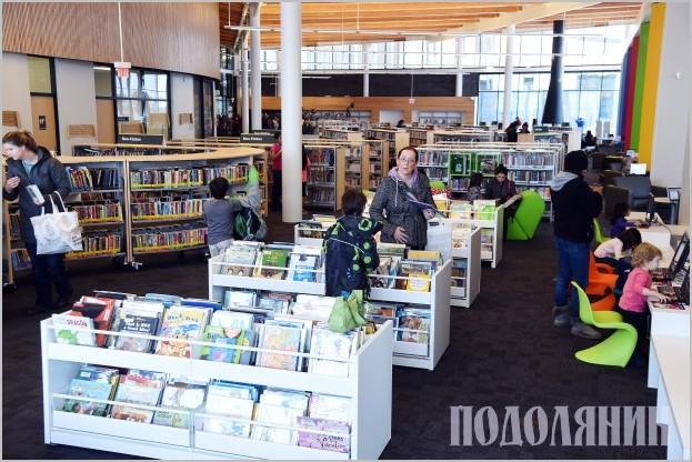 Бібліотека канадського міста Едмонтон