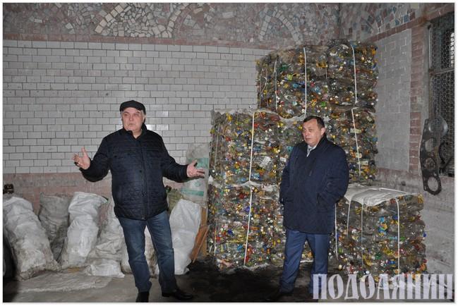 Сергій Гжебовський, Сергій Бабій у цеху із сортування сміття