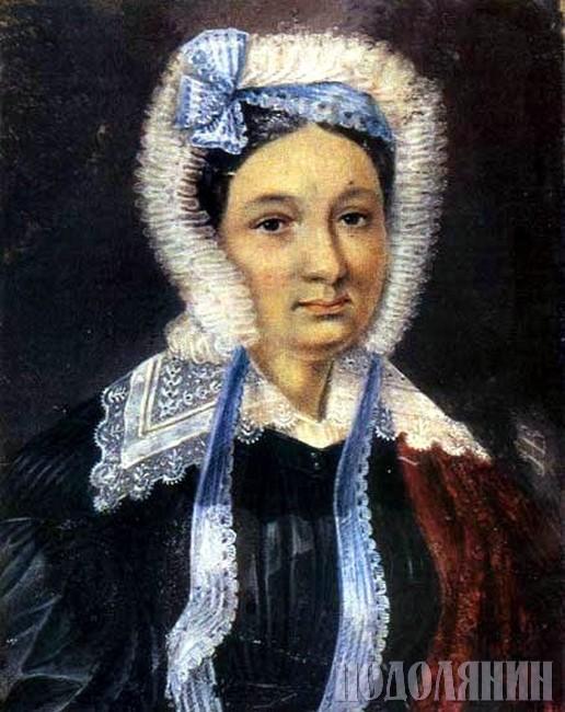 Дружина декабриста Марія ЮШНЕВСЬКА