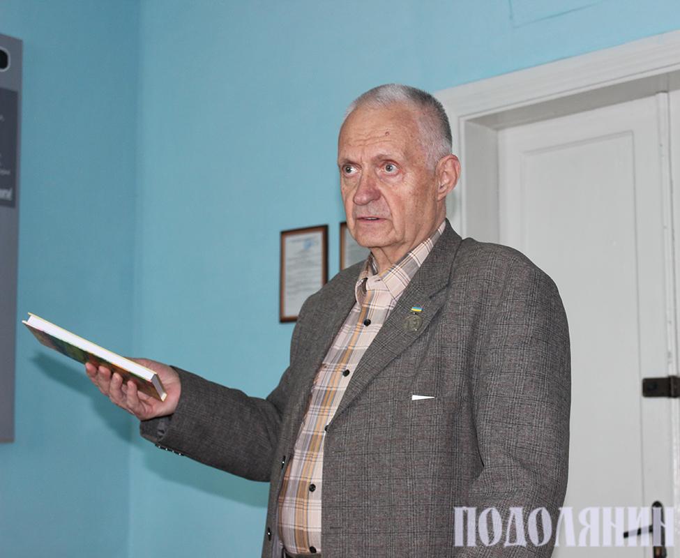 Геннадій Щипківський у ПДАТУ.  Фото Едуарда Крилова