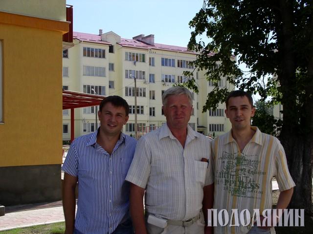 На фото зліва направо: Ігор КОВАЛЬСЬКИЙ, Олександр ГОНШОВСЬКИЙ та Олександр ЗАЯЦЬ
