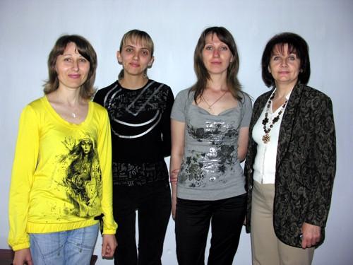 Викладачі школи мистецтв (зліва на право) Оксана ГОРА, Віта САВІНСЬКА, Олеся КОРОЛЮК, Людмила ЛІТОМИРСЬКА.