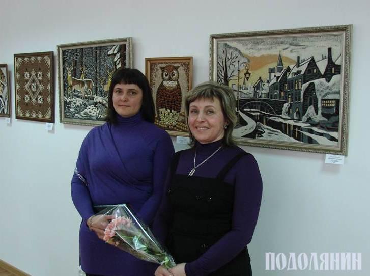 Ольга Слободанюк та Лариса Клепас