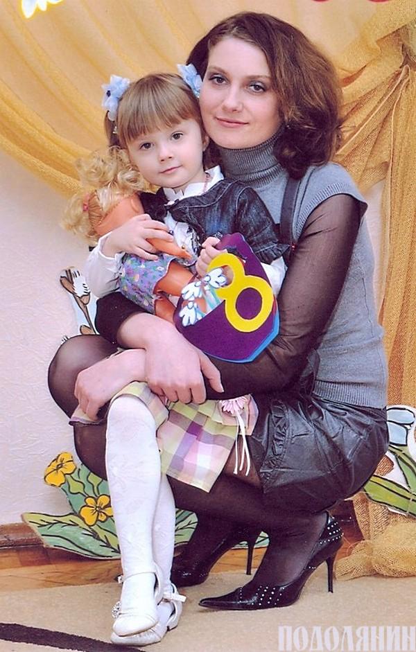 Дочка Наталя з онучкою Кариною