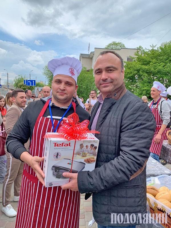 Анатолій Саранчук (ліворуч) і Володимир Юр'єв