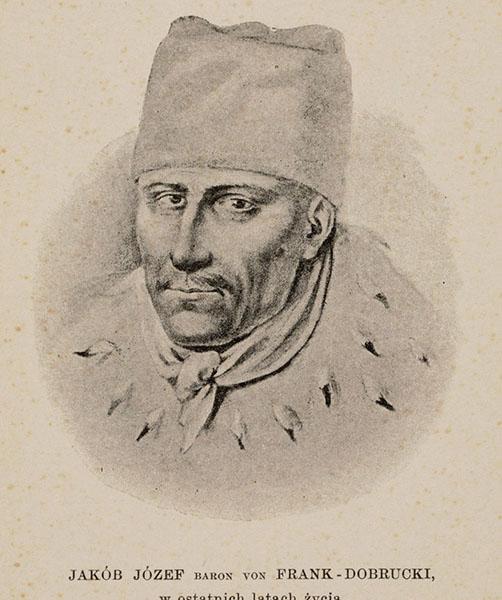 Портрет Якова Франка в останні роки життя