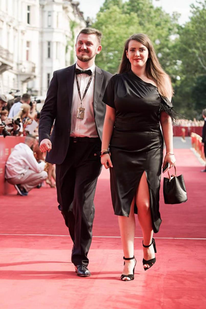 Андрій Заєць із дружиною Iлоною