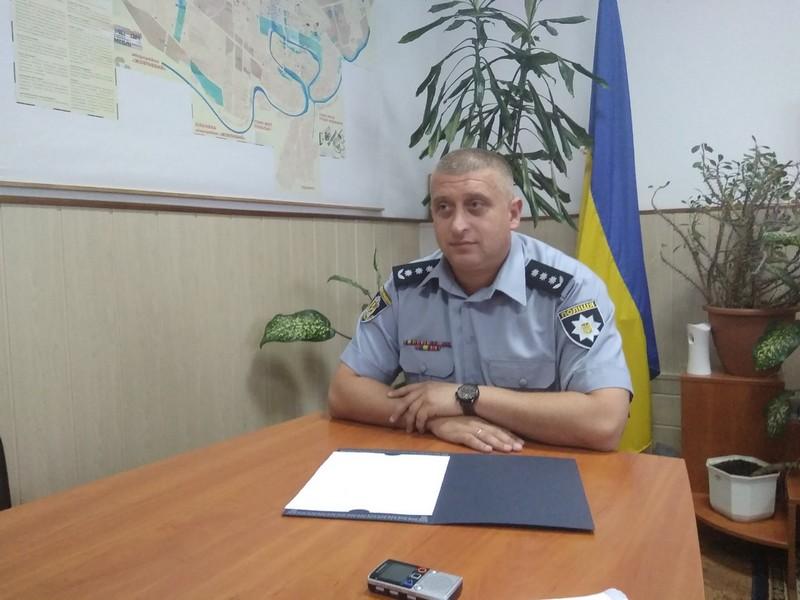 Підполковник поліції Юрій БІЛЯНСЬКИЙ