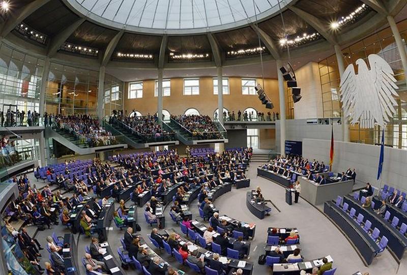 Так виглядає зал Бундестагу