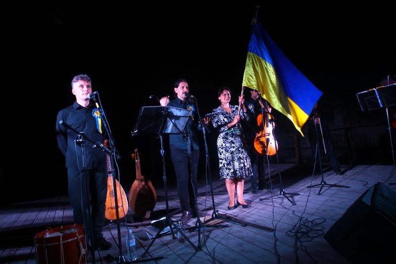 Фрагмент концерту «Хореї козацької»