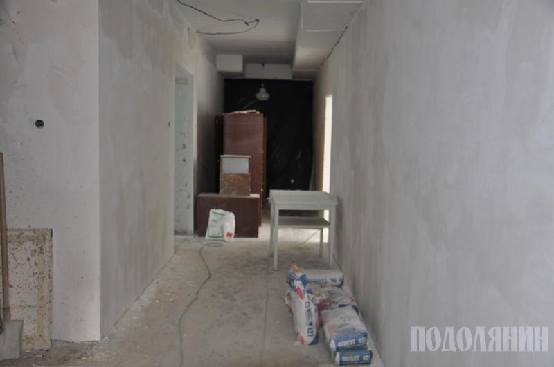 У новому приміщенні триває ремонт