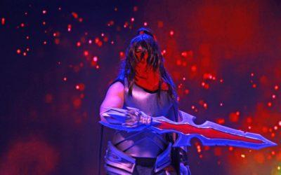 Переможець битви косплеєрів Сергій Шмирко, який перевтілився у Dragonblade Talon