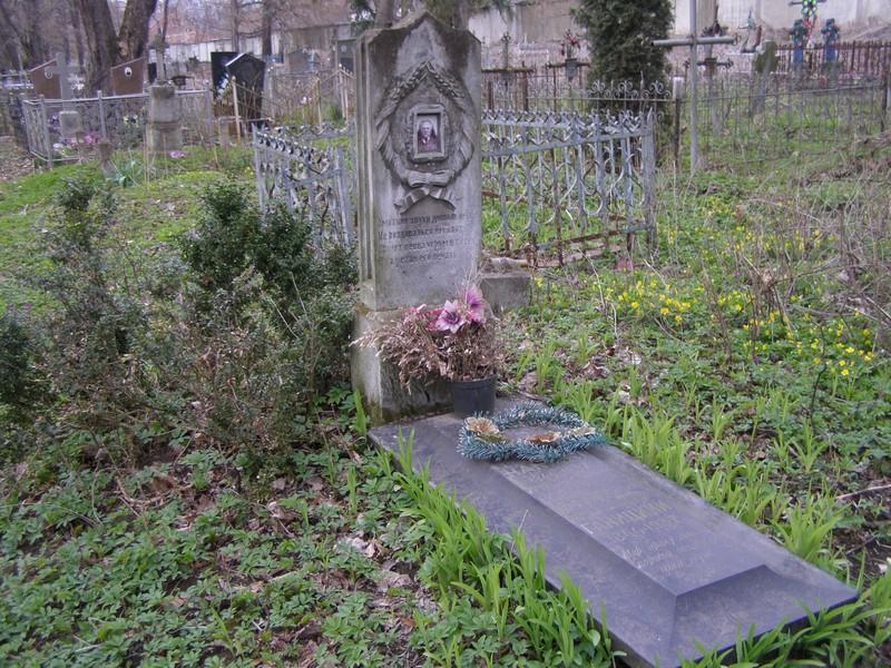 Могила Тадея Ганицького на кладовищі Руських фільварків