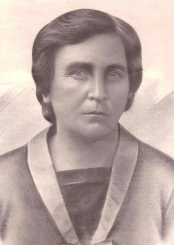 Дружина Євгена Зав'ялова - Євдокія Iванівна Зав'ялова