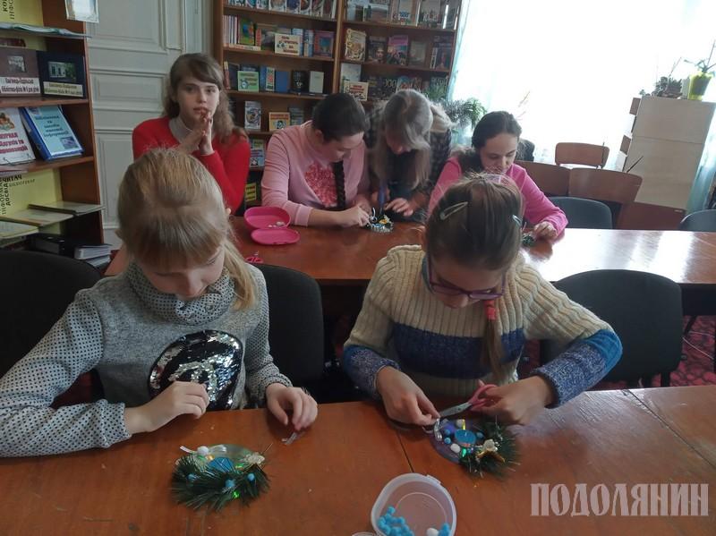 У бібліотеці не лише книги читали, але й майстрували
