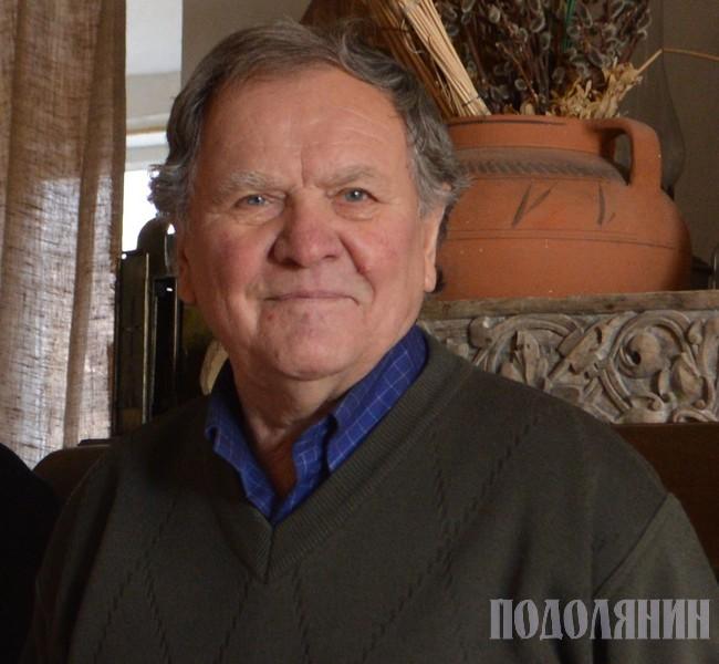 Борис Негода, грудень 2019 р. Фото з архіву «Подолянина»