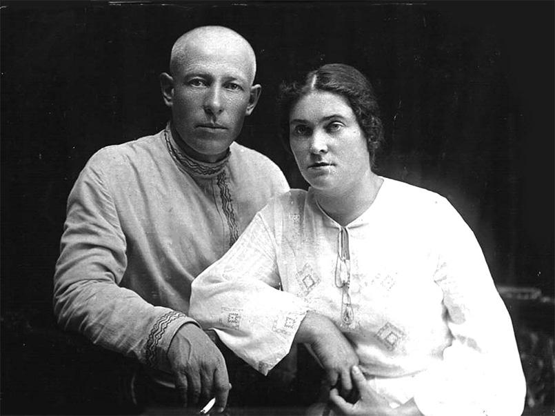 Георгій Леонідович та Ада Карлівна Стрілецькі, 1934 рік