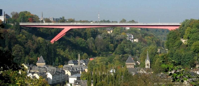 Міст великої герцогині Шарлотти у Люксембурзі