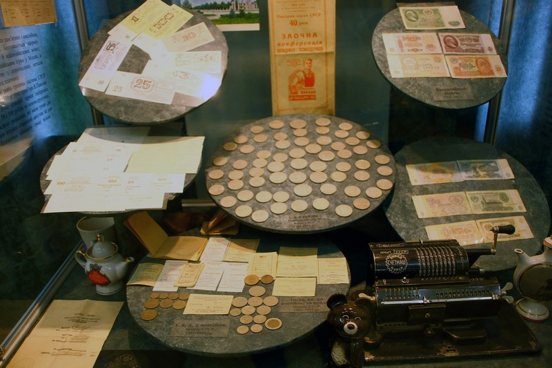 Експозиція в Музеї грошей