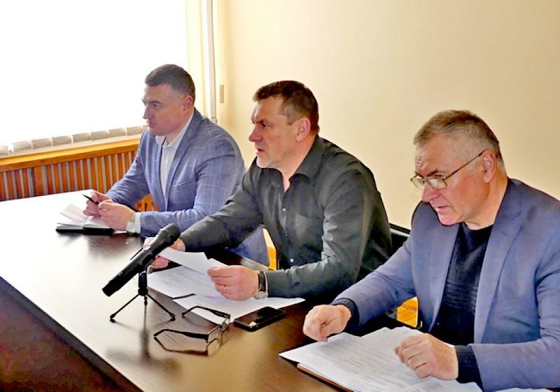 Сергій Мельник, Василь Сукач (голова штабу), Юрій Пливанюк
