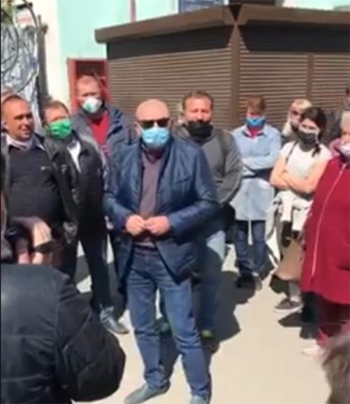 Міський голова Михайло Сімашкевич зустрічається з підприємцями ринку