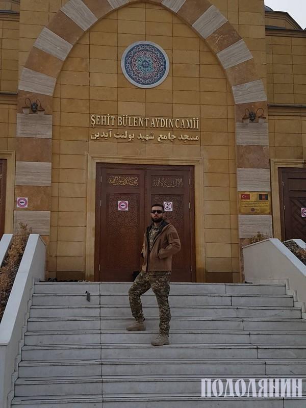 Мечеть на території військової бази в місті Кабулі