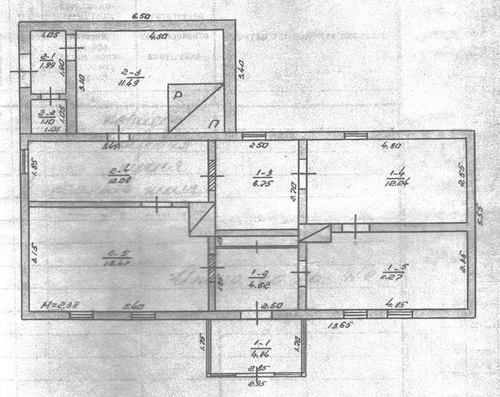 План будинку Стрілецьких на Підзамчі