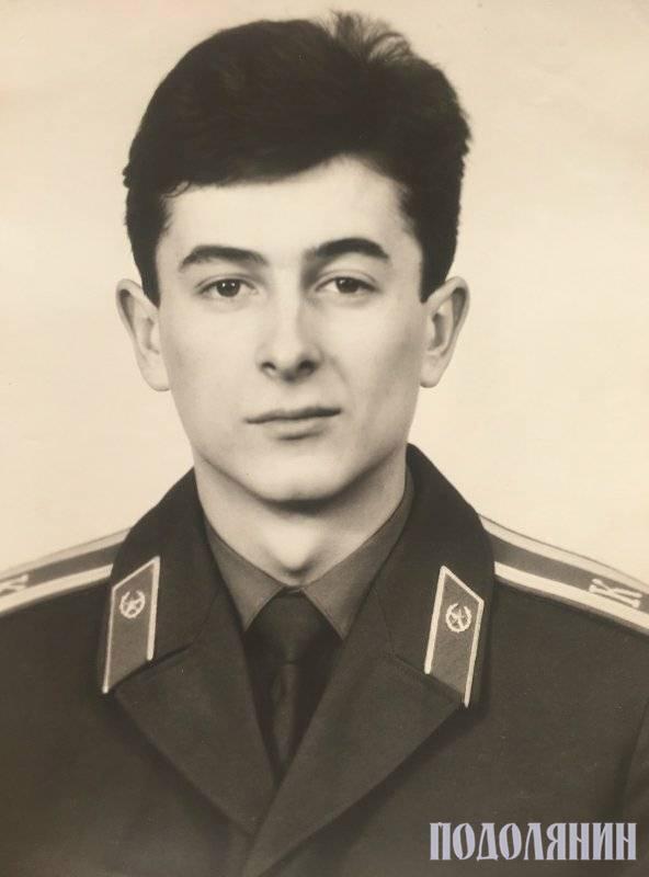 Курсант Ярославського вищого військового фінансового училища