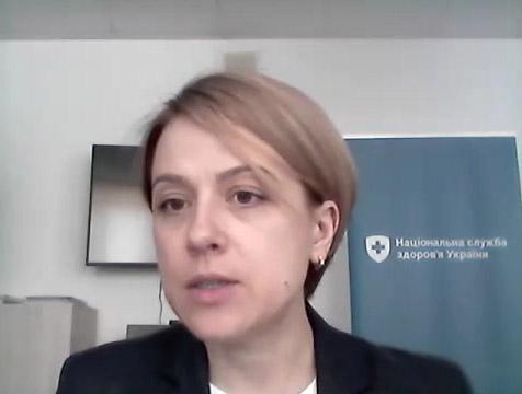 Модератор зустрічі Лілія Гудзь