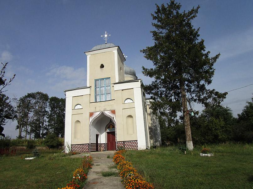 Церква в селі Антопіль. Сучасне фото