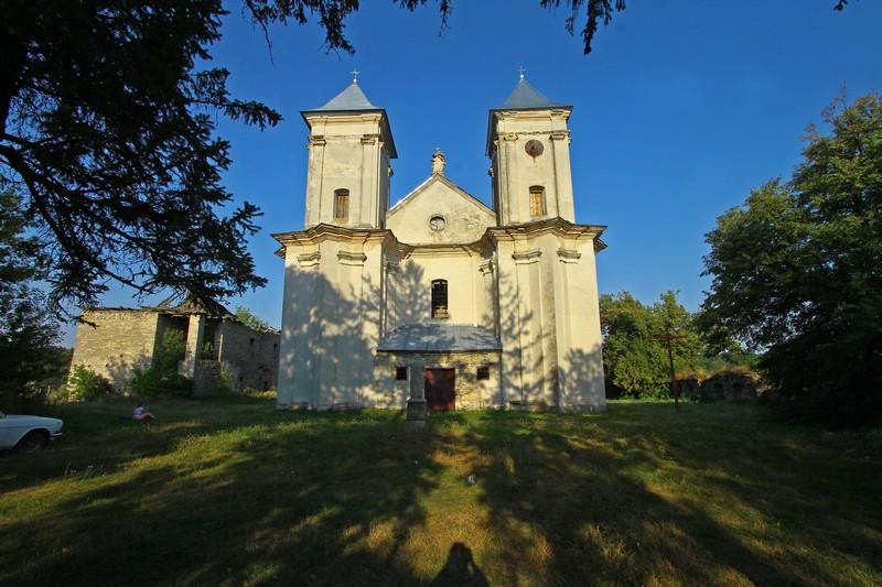 Костел у Сидорові