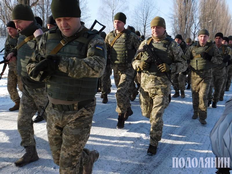 Традиційний марш-кидок у День Збройних сил України
