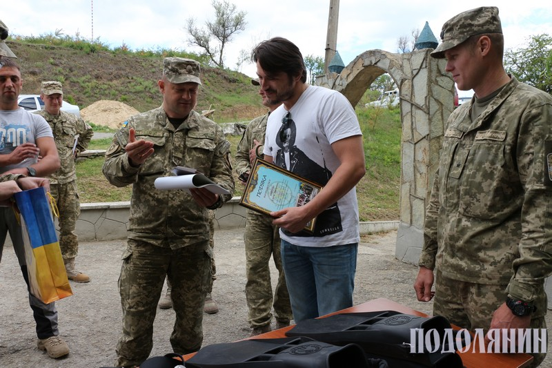 Волонтер і друг Центру розмінування Сергій Притула привіз чергову допомогу