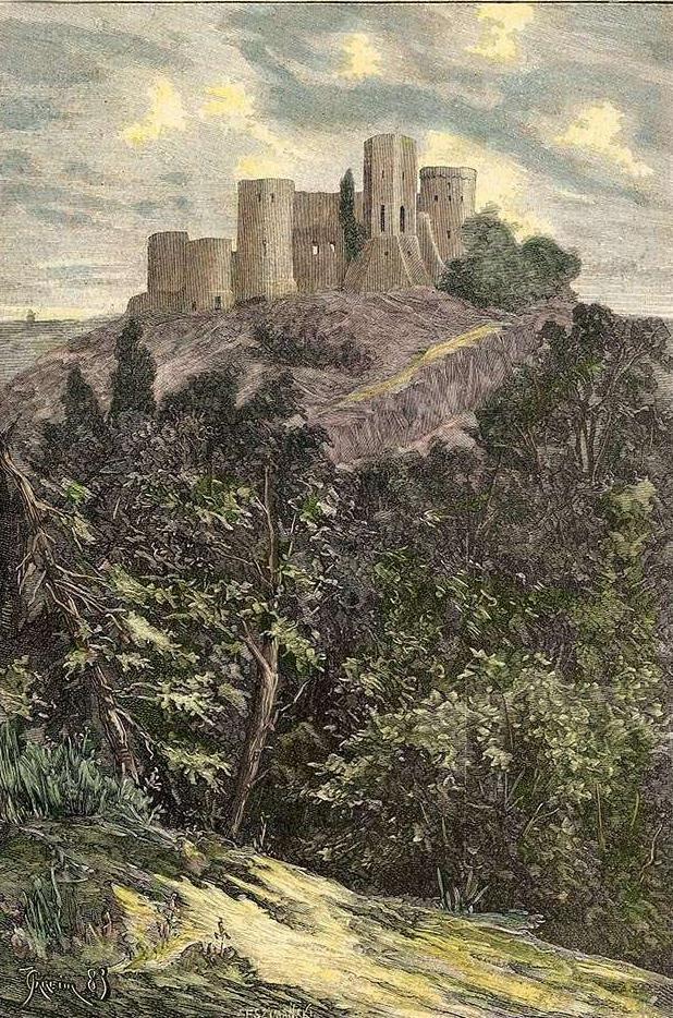 Отроків, гравюра з журналу «Klosy», березень1884 р.