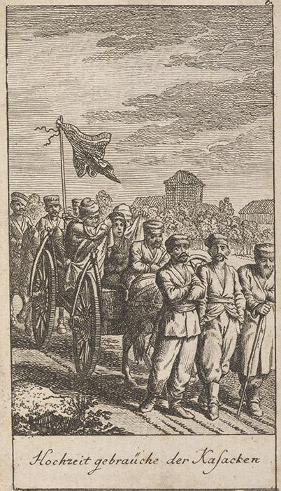 Козацьке весілля, 1780