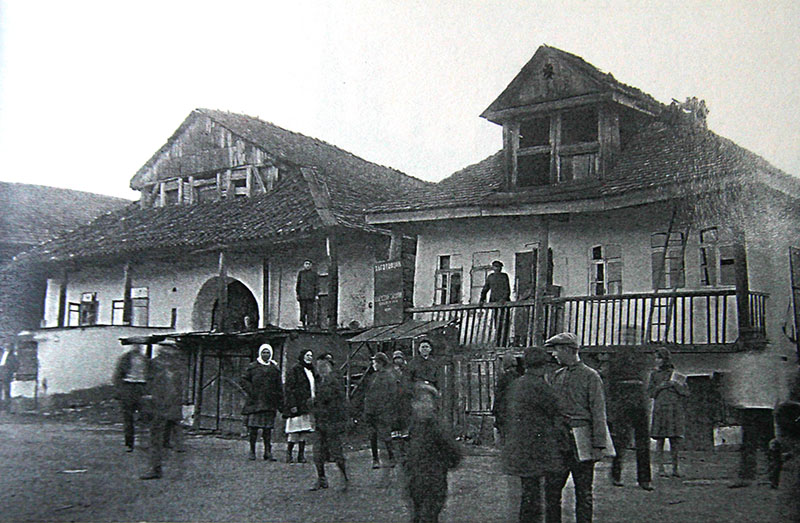 Заїзди на ринку Ушиці. Фото Павла Жолтовського