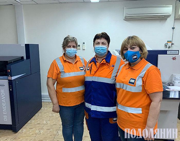 Команда Наталії Залевської