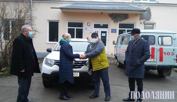 Автомобіль сімейної медицини поїхав до Оринина