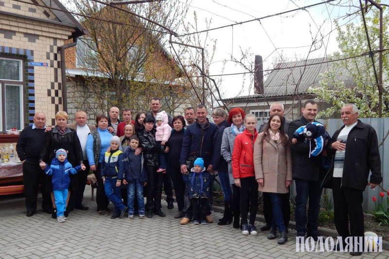 Велика родина Бориса Чорного