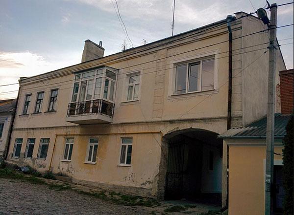 Будинок Ролле у Кам'янці-Подільському на вулиці Татарській. Сучасне фото