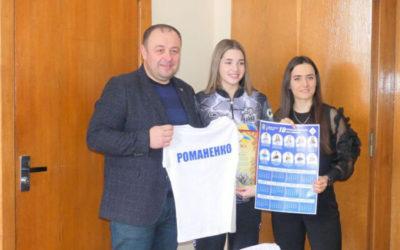 Заступник міського голови Вадим Савчук із спортсменками