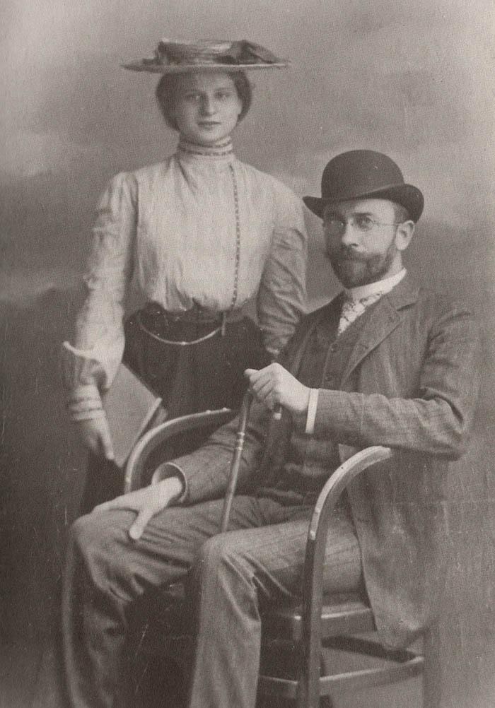 Кароль Ролле з дружиною Марією.  Після 1895 року