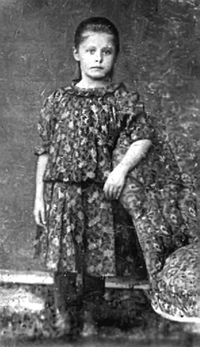 Зінаїда Сулковська в дитинстві