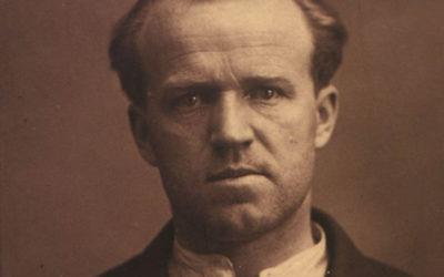 Обкладинка книги про Юрка Тютюнника з його портретом