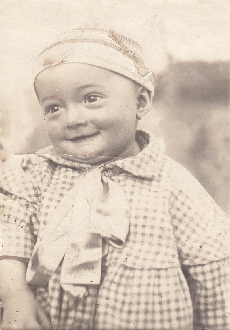 Едуард Крилов у дитинстві