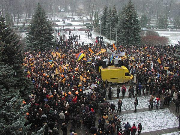 Помаранчева революція. 2004 р. Кам'янець-Подільський