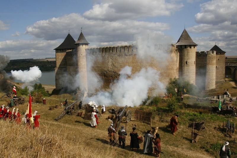 2009 р. Реконструкція битви за участі кам'янецьких реконструкторів