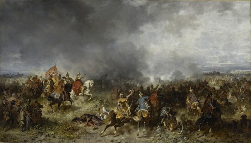 Юзеф Брандт. «Битва під Хотином. 1621»
