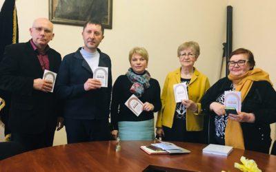 Зліва направо: Ігор Набитович, Олег Рарицький, Надія Баштова, Елеонора Соловей, Галина Тарасюк
